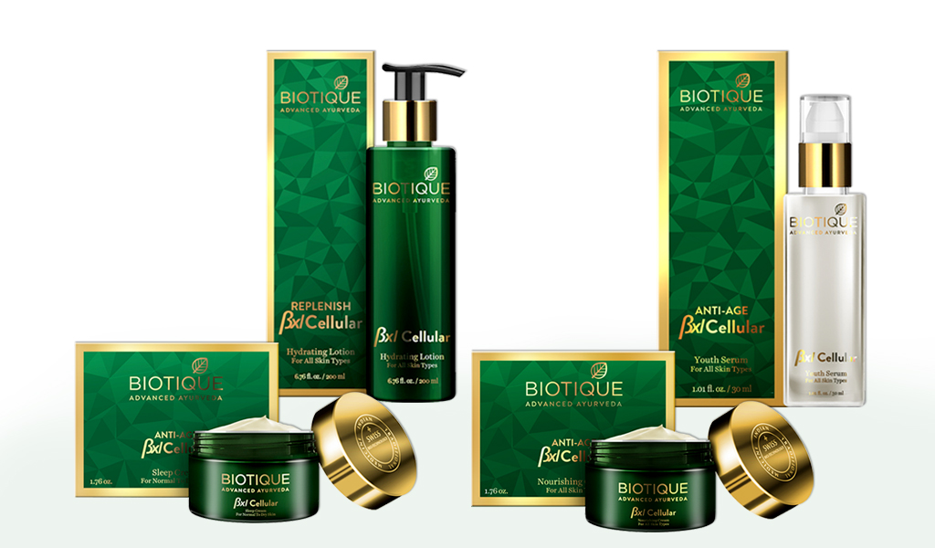 Biotique Re-launches its Advanced BXL Cellular Range | GlobalSpa - Beauty,  Spa & Wellness, Luxury Lifestyle Magazine Online
